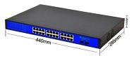 Коммутатор с 24 PoE портами WS-G2402GB