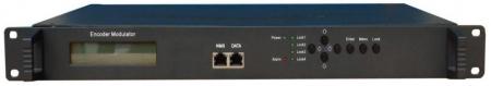 DV-M3542HDC. Четырехканальный MPEG-4/H.264 кодер - QAM модулятор с дополнительным TS/IP выходом
